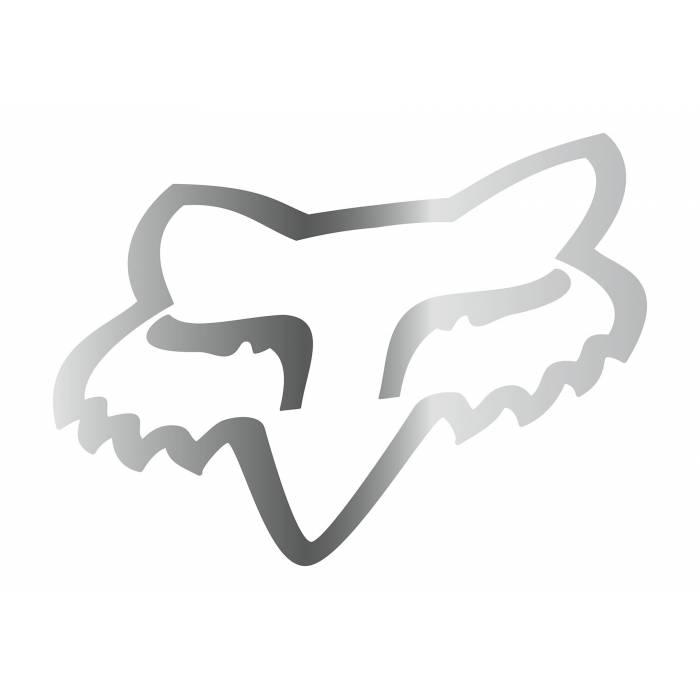 Fox Head Sticker, 03268-010
