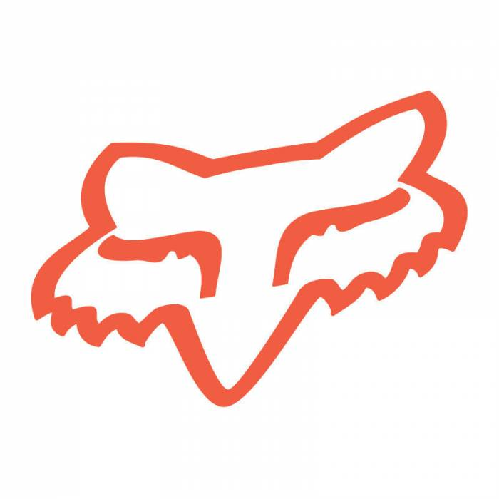 Fox Head Sticker, 14911-824