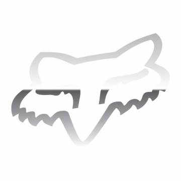 Fox Head Sticker, 14934-010-OS