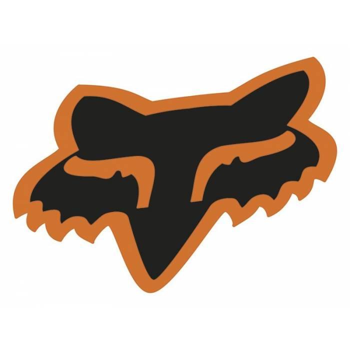 Fox Head Sticker, 14901-016-OS