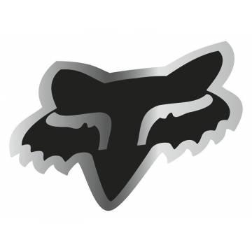 Fox Head Sticker, 14897-010-OS