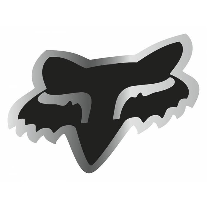 Fox Head Sticker, 14901-010-OS