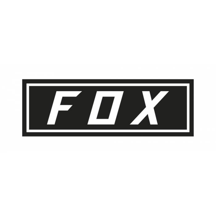 Fox Bumper Sticker, 23385-001-OS