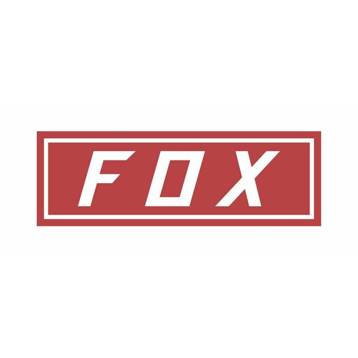 Fox Bumper Sticker, 23385-003-OS