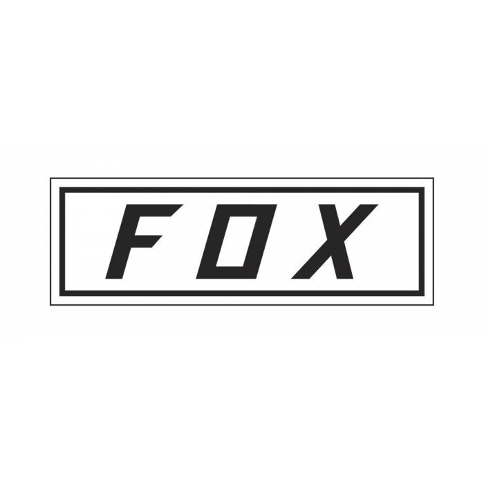 Fox Bumper Sticker, 23385-008-OS