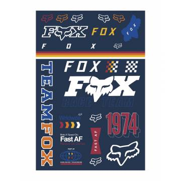 Fox Murc Track Pack Stickerbogen, 23663-922-OS