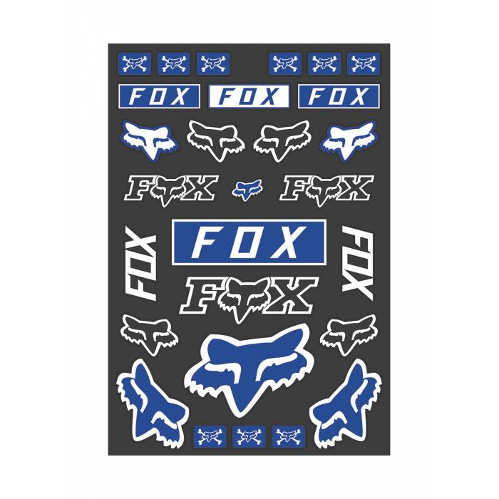 Fox Legacy Track Pack Stickerbogen, 23664-002-OS