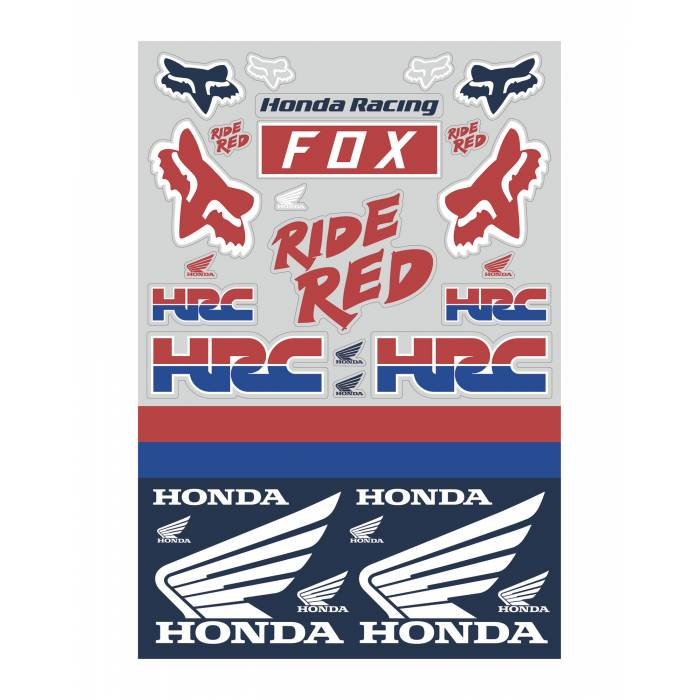 Fox Honda Track Pack...