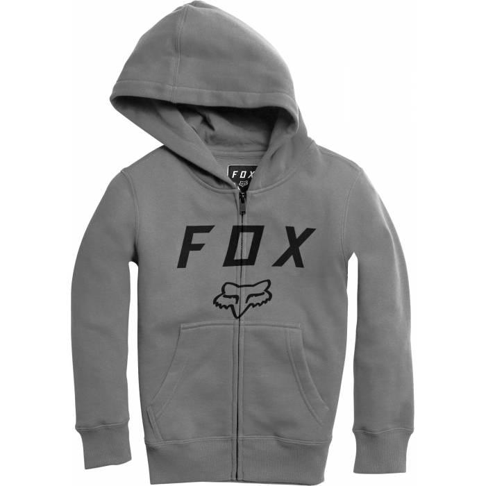 Fox Legacy Moth Zipper Kinder Hoody, 20722-185