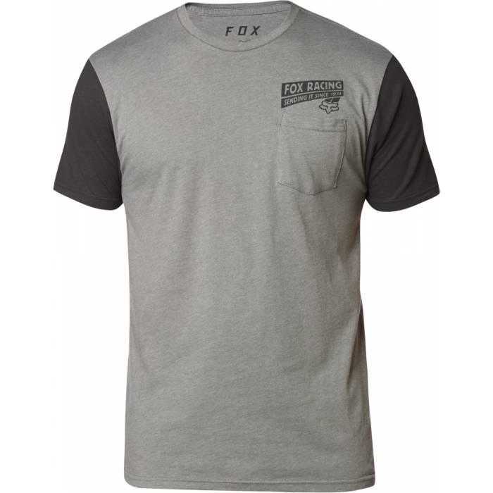 Fox Sending It Premium T-Shirt, grau-schwarz, 24910-185