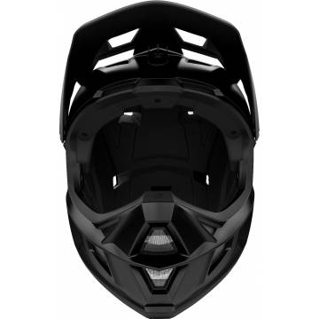 Fox Rampage Comp Mountainbike Fullface Helm | schwarz matt | 26361-255 Frontansicht