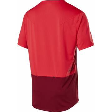 FOX MTB Jersey Flexair Zip | rot | 25121-555 Ansicht Rückseite