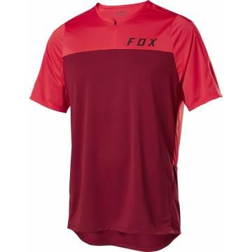 FOX MTB Jersey Flexair Zip | rot | 25121-555