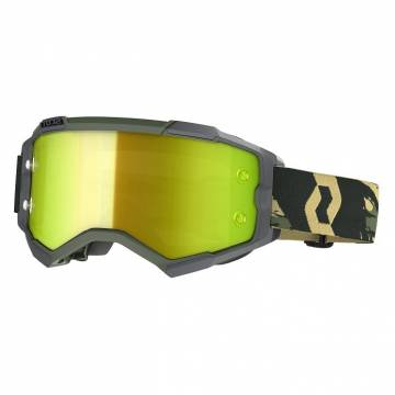 SCOTT Fury Motocross Brille, grün camo, 272828-6800289