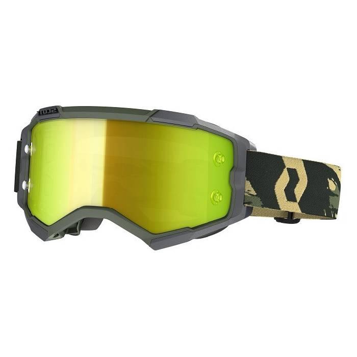 SCOTT Fury Motocross Brille, grün camo, 272828-6800289