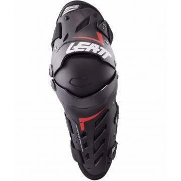 LEATT Dual Axis Motocross Knieschoner, schwarz/rot, 5017010175