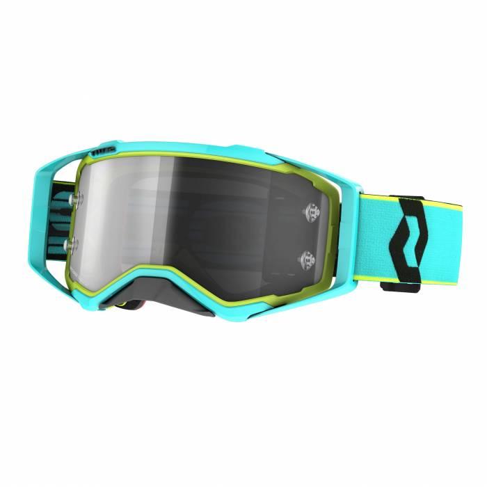 SCOTT Prospect Light Sensitive Motocross Brille, blau/gelb, 272820-6798327