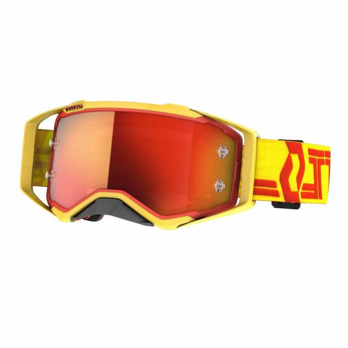 SCOTT Prospect Motocross Brille, gelb/rot, 272821-4039280