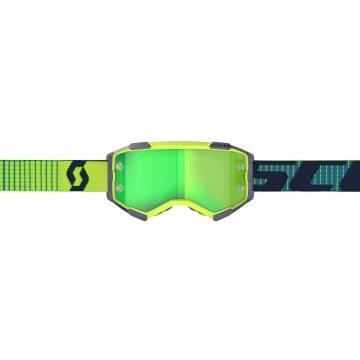 SCOTT Fury Motocross Brille, gelb/blau, 272828-1054279 Vorderansicht