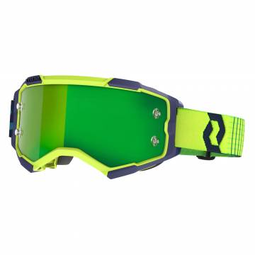 SCOTT Fury Motocross Brille, gelb/blau, 272828-1054279