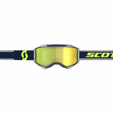 SCOTT Fury Motocross Brille, blau/grau, 272828-1099289 Vorderansicht
