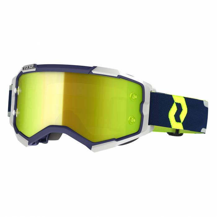 SCOTT Fury Motocross Brille, blau/grau, 272828-1099289