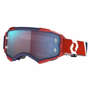 SCOTT Fury Motocross Brille, rot/blau, 272828-1228349