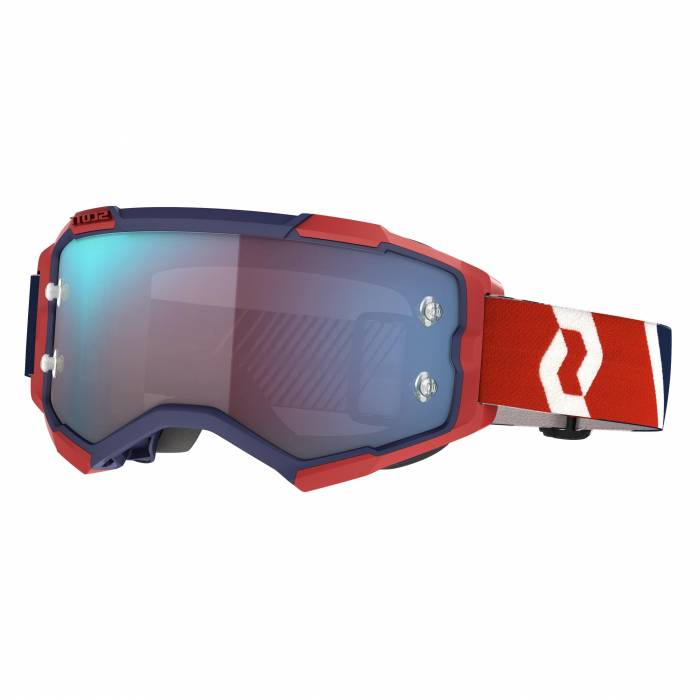 SCOTT Fury Motocross Brille, rot/blau, 272828-1228349