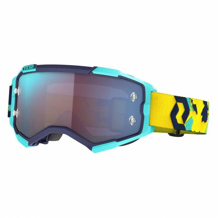 SCOTT Fury Motocross Brille, blau/orange, 272828-1454349