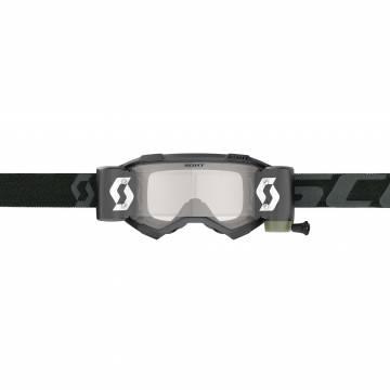 SCOTT Fury WFS Motocross Roll-Off Brille, schwarz, 278596-0001113 Vorderansicht