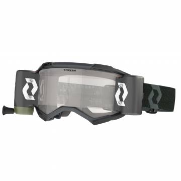 SCOTT Fury WFS Motocross Roll-Off Brille, schwarz, 278596-0001113