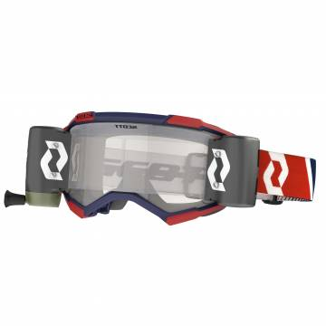 SCOTT Fury WFS Motocross Roll-Off Brille, rot/blau, 278596-1228113