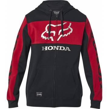 FOX Honda Zip Hoodie, schwarz/rot, 25955-017