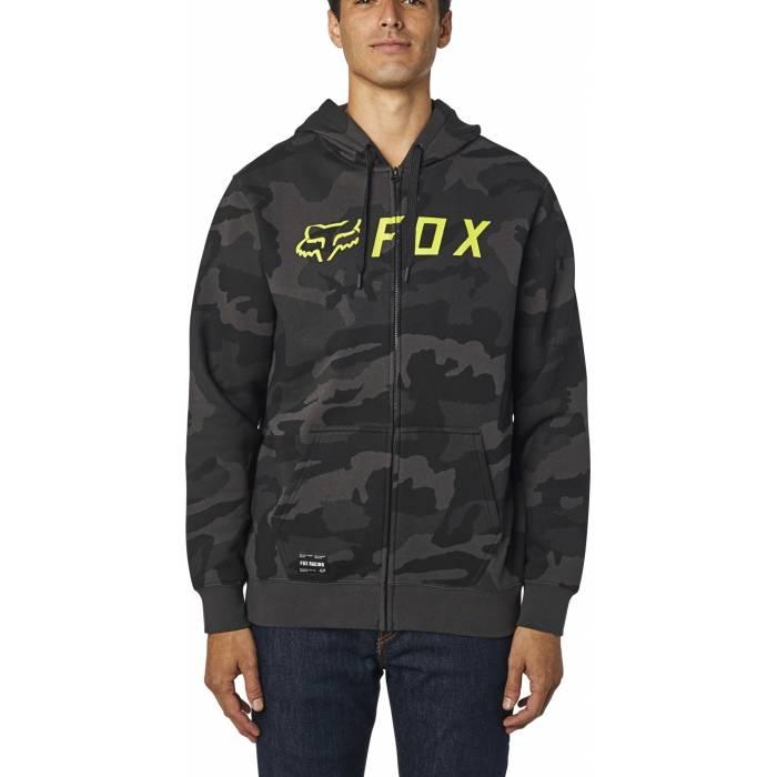 FOX Apex Zip Hoodie, schwarz camo, 26519-247