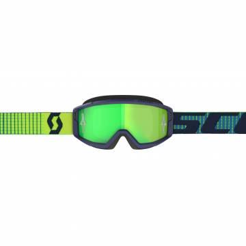 SCOTT Primal Motocross Brille, blau/gelb, 278597-1054279 Frontansicht