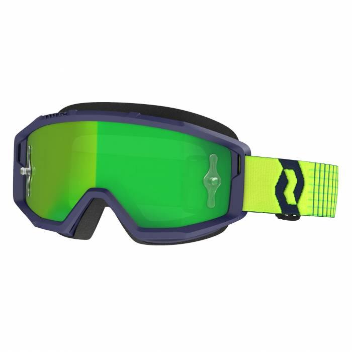 SCOTT Primal Motocross Brille, blau/gelb, 278597-1054279