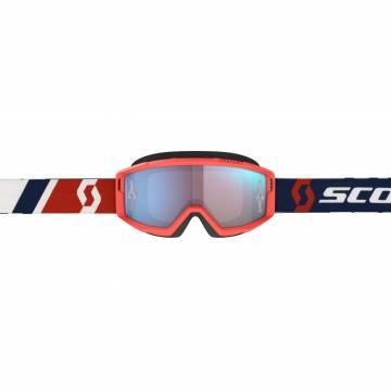 SCOTT Primal Motocross Brille, rot/blau, 278597-1228349 Frontansicht