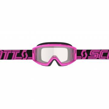 SCOTT Primal Motocross Brille, schwarz/pink, 278598-1254043 Frontansicht