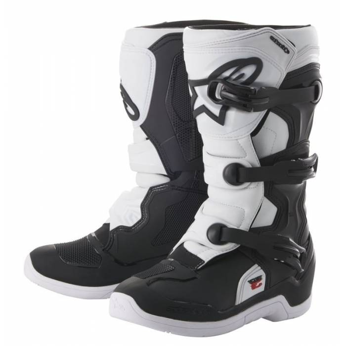 Alpinestars Tech 3S Kinder Motocross Stiefel, schwarz/weiss, 2014018-12