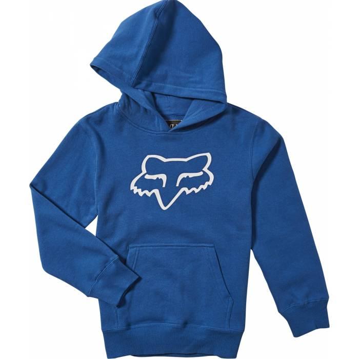 FOX Kinder Hoodie Legacy, blau, 15593-159