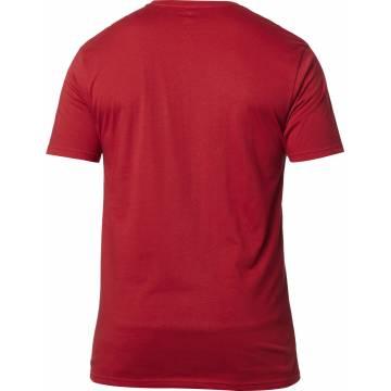 FOX Non Stop Premium T-Shirt, rot/weiss, 23709-054 Rückansicht