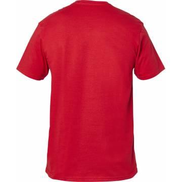 FOX Advantage Premium T-Shirt, rot, 26001-555 Rückansicht