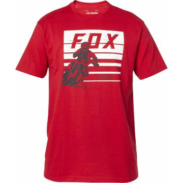 FOX Advantage Premium T-Shirt, rot, 26001-555