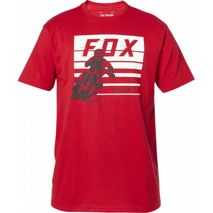 FOX Advantage Premium T-Shirt, rot, 26001-555