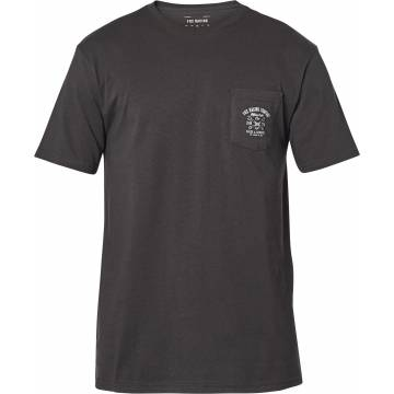 FOX Wrenched Premium Pocket T-Shirt, dunkelgrau, 26015-587