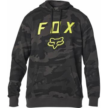 FOX Legacy Moth Camo Hoodie, camo schwarz, 24762-247