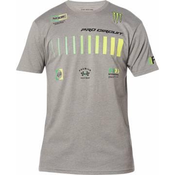 FOX Pro Circuit Premium T-Shirt, grau, 26445-185