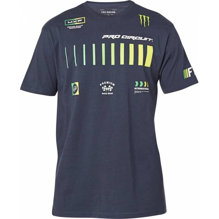FOX Pro Circuit Premium T-Shirt, dunkelblau, 26445-329