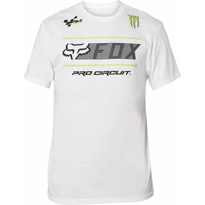 FOX Pro Circuit T-Shirt, weiss, 26444-190