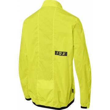FOX Defend Mountainbike Windstopper Jacke, gelb, 25423-268 Rückansicht